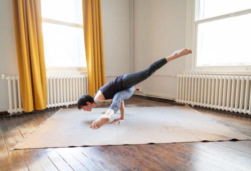 'Yoga Dersi Serileme Sanatı' Programı – Ekim 2020