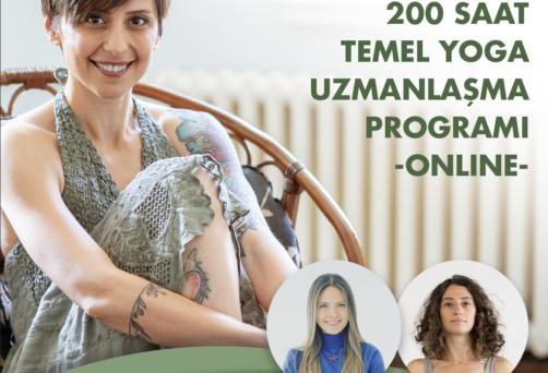 2022 // ONLINE 200 SAAT TEMEL YOGA UZMANLIK PROGRAMI